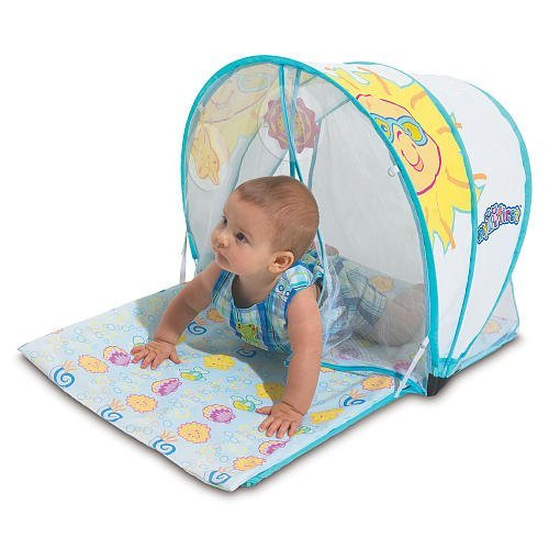 Baby Activity Playmat With Sunshade front-41575