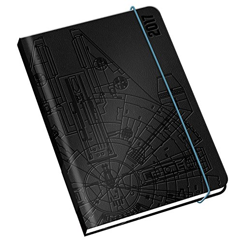 Star Wars A5 Premium Official 2017 Diary - Hardback Week to View A5 Diary 2017