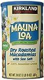 MAUNALOA(マウナロア) マカダミアナッツ (ドライロースト+塩味) 680g