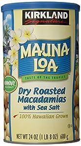 Kirkland Mauna Loa Roasted Macadamia Nut with Sea Salt, 24 Oz.