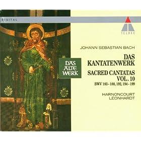 Bach, JS : Sacred Cantatas Vol.10 : BWV 183-188, 192, 194-199