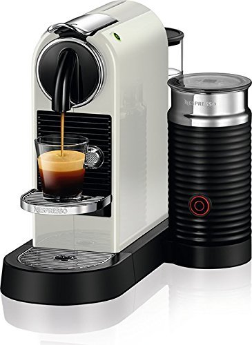 Nespresso D122-US-WH-NE Citiz & Milk Espresso Machine, White
