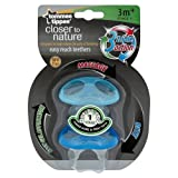 [HSB Value+ Bundle] Tommee Tippee Closer to Nature Easy Reach Teethers Stage 1 with MF® Chenille® Cleaning Glove
