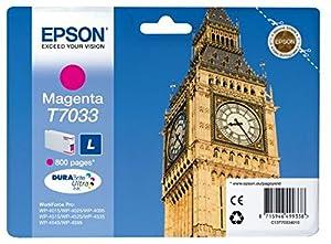 Epson T7033 Standard Capacity Ink Cartridge for Workforce Pro 4000 Series Printers - Magenta