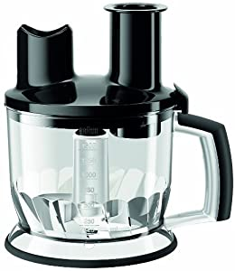 Braun Multiquick EasyClick Küchenmaschinen-Aufsatz MQ 70, schwarz