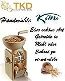 KoMo Handgetreidemühle mit Tischbefestigung Mahlleistung ca. 50 g/min Weizen fein