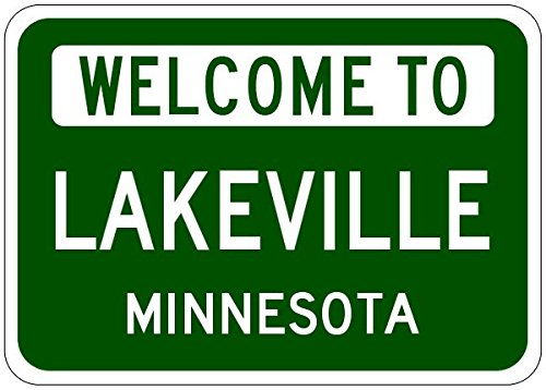 Lakeville City Sign