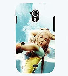 PRINTSWAG BEAUTIFUL GIRL Designer Back Cover Case for MICROMAX A116 CANVAS HD