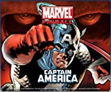 Marvel Pinball Captain America table [Online Game Code]
