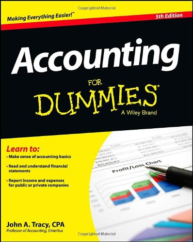 Accounting For Dummies image