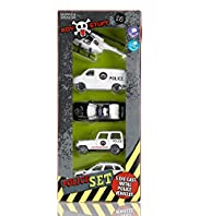 Boys Stuff Police Vehicles Toy Set