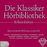 Image de Die Klassiker Hörbibliothek Brillant-Edition: Meisterwerke der Weltliteratur auf 30 CDs