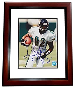 Jimmy Smith Autographed Hand Signed Jacksonville Jaguars 8x10 Photo - MAHOGANY CUSTOM... by Real Deal Memorabilia