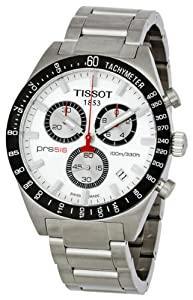 Tissot PRS516 Quartz Stainless Steel Band Silver Dial Men's Watch - T0444172103100