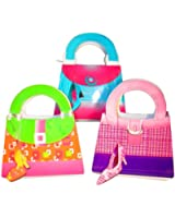 Fun Express Girly Girl Purse Gift Bags With Shoe Tags - 12 Pieces