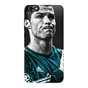 Radiant Calm Soccer Star Back Case Cover for Honor 4C