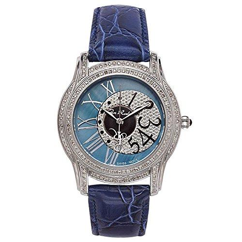 Joe Rodeo crotalo reloj de pulsera para mujer - Beverly plata 1.35 estación