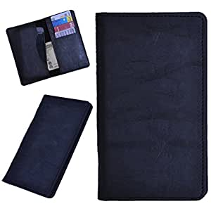 DCR Pu Leather case cover for Karbonn S4 Titanium (black)