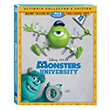 Monsters University – Exclusive 5-Disc Limited Ultimate Collectors Edition with Bonus DVD (Blu-ray 3D + Blu-ray + DVD + Digital Copy)