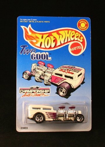 TWO COOL * CHAMPIONSHIP AUTO SHOWS, INC. * Exclusive 1998 Hot Wheels Special Edition 1:64 Scale Die-Cast Vehicle