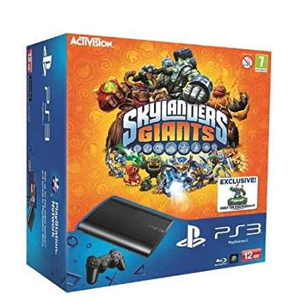Sony PlayStation 3 12GB Super Slim Console with Skylanders Giants