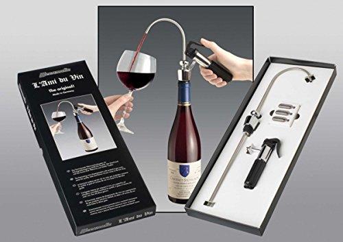 Pompe de service Ami du Vin - Kit complet en coffret cadeau