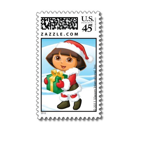 Dora the Explorer: Santa's Helper Postage