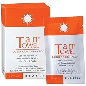 Tan Towel Half Body Towels, Classic, 10 Count