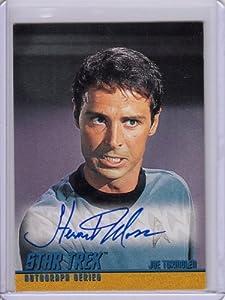 Star Trek TOS Stewart Moss A18 Autograph Card