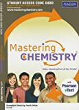 echange, troc  - Masteringchemistry(r) with Pearson Etext Student Access Code Card for Conceptual Chemistry