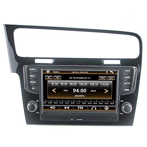 LIKECAR-7-Zoll-Autoradio-2-DIN-Multimedia-Sat-Navi-GPS-DVD-Navigationssystem-Touch-Screen-fr-Volkswagen-VW-Golf-7-MK7-VII-2013-2014-2015-mit-FM-AM-Radio-Dual-Zone-Ipod-MP3-MP4-Iphone-Blueooth-RDS-USB-