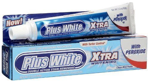 Plus White Whitening Toothpaste Xtra Whitening With Peroxide