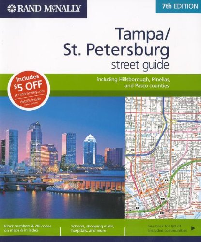 Rand McNally Tampa/St. Petersburg Street Guide: Including Hillsborough, Pinellas, and Pasco Counties