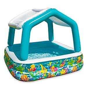 Intex piscina gonfiabile con parasole giochi - Gonfiabili piscina amazon ...
