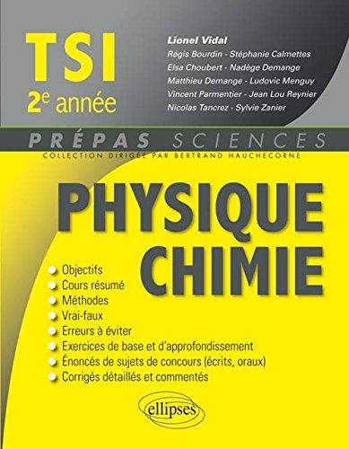 physique-chimie-tsi-2e-annee