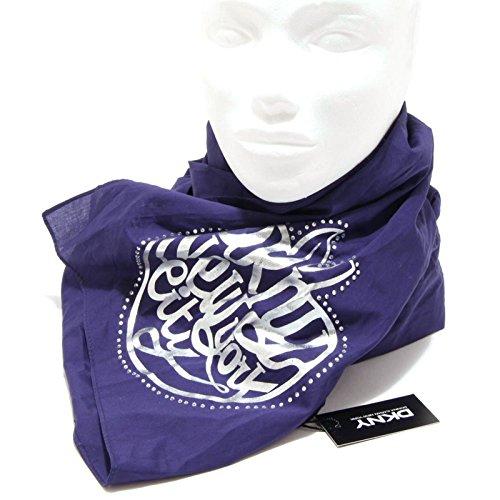 1238G sciarpa viola DKNY DONNA KARAN accessori donna scarf women [UNICA]