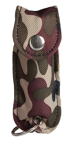 SABRE Pepper Spray with Key Ring (Green Camo)