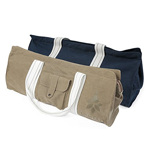 nine-cif-exercise-yoga-mat-bag-carrier-tote-bag-with-waterproof-pocket-and-durable-strap-dark-blue