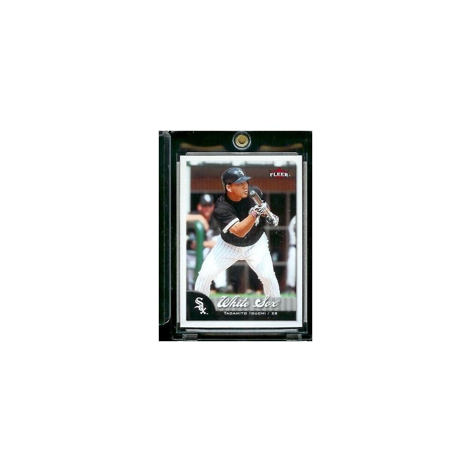 2007 Fleer Baseball Card #266 Tadahito Iguchi