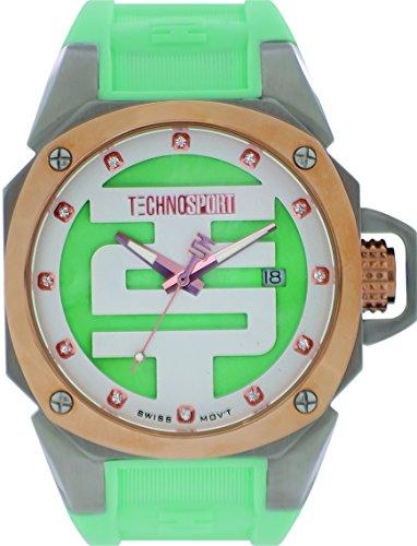 technosport-ts-102-9-womens-aquamarine-silicone-band-gold-bezel-40mm-aqua-and-white-dialstainless-st