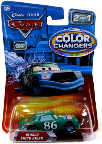 Buy Low Price Mattel Disney / Pixar CARS Movie 155 Die Cast Cars Color Changers Dinoco Chick Hicks Figure (B003287HG2)