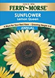 Ferry-Morse Annual Flower Seeds 1598 Sunflower - Lemon Queen 1 Gram Packet