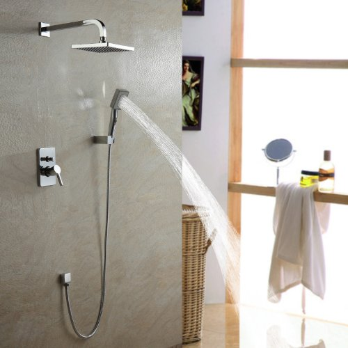 Etonnant ... Sprinkle Single Handle Wall Mount Shower Faucet With  ...