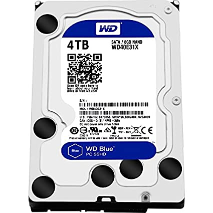 Blue (WD40E31X) 4TB Internal Hard Disk