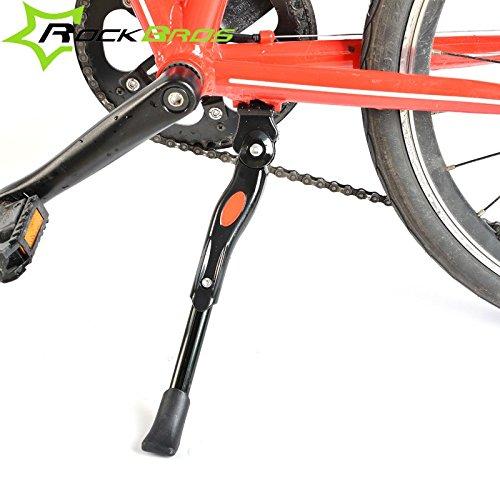 droystmrockbros-24-28-adjustable-aluminum-bicycle-side-support-kickstand-parking-foot-bike-accessori