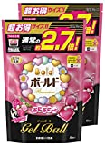 【まとめ買い】 ボールド 洗濯洗剤 液体 ぷにぷにっとジェルボール エレガントブロッサム&ピオニーの香り 詰替用 超お得サイズ 1.16kg (48個入り)×2個
