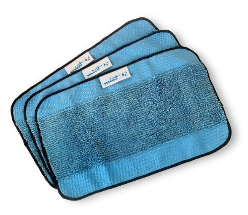 Review Of Mint Microfiber Mopping Cloths 3 Pack