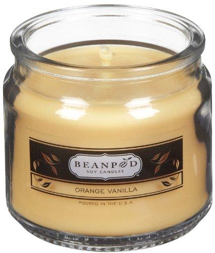 Beanpod Candles Orange Vanilla, 4.5oz Jar