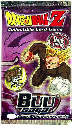 Dragonball Z Score Trading Card Game Buu Saga Booster PACK 10 Cards - 1