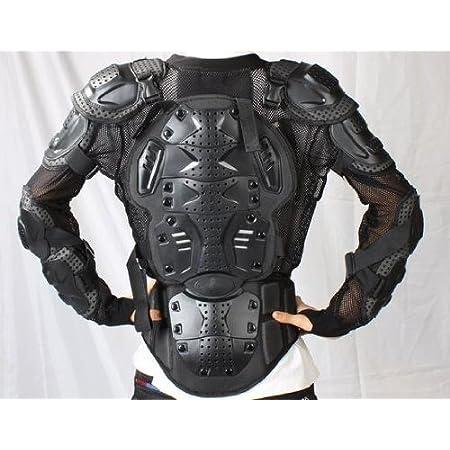 プロテクタージャケット ボディガード バイク BMX エクストリームライダー (Lサイズ:身長166cm-170cm)